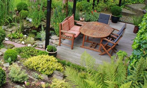 Teak Gartenmöbel - Hochwertig bei jeder Witterung